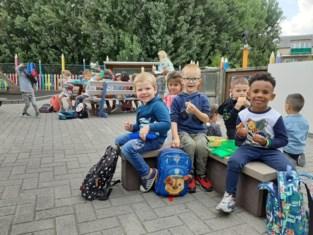 'Gezellige' eerste schooldag in basisschool De Sterrenhemel