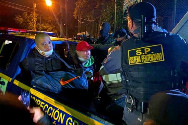 Gedetineerden gijzelen 10 bewakers in gevangenis met maximale beveiliging in Guatemala
