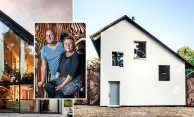 Frank en Eveline bouwden hun woning zelf en gingen aan de slag met tweedehandsmaterialen