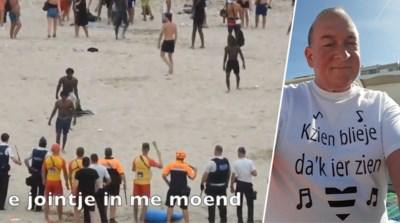 """Luude muziek en e flessche sterke drank"": bewoner Alain lanceert hilarisch nummer over rellen in Blankenberge"