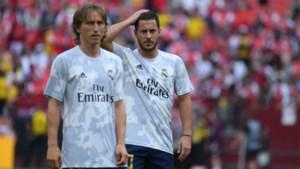 """Luka Modric wil dat Eden Hazard ongeschonden uit de interlands komt : """"We hebben hem aan 100% nodig bij Real Madrid"""""""