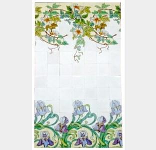 Tegelmuseum toont nieuwe panelen