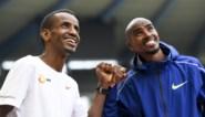 """Mo Farah en Bashir Abdi over hun werelduurrecordpoging vrijdag: """"De vraag is niet of ik Mo kan kloppen, wel hoelang ik hem kan volgen"""""""