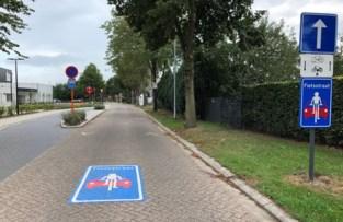 De Hoogt omgevormd tot fietsstraat voor sportpark