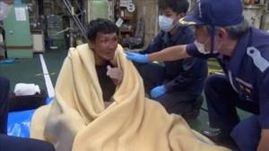 Vrachtschip gezonken voor kust Japan: 1 overlevende, 1 dode en 41 vermisten