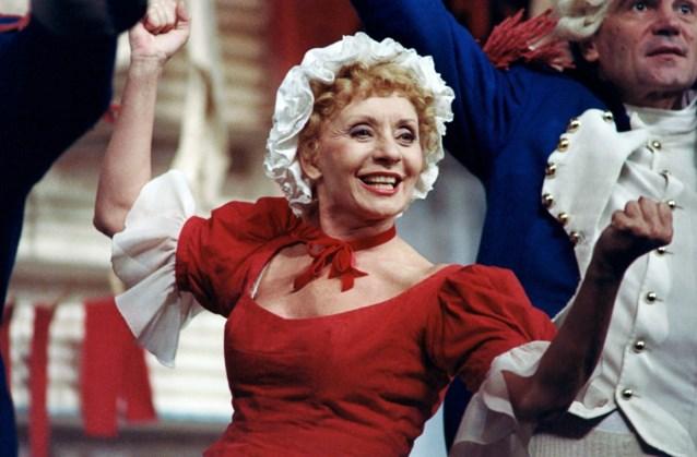 Zangeres en actrice Annie Cordy op 92-jarige leeftijd overleden