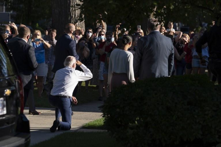 Joe Biden belt met Jacob Blake en bezoekt Kenosha