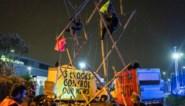 Tientallen arrestaties bij blokkade Britse krantendrukkerijen
