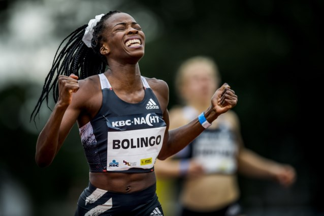 Cynthia Bolingo verpulvert met derde wereldjaarprestatie Belgisch record op 300 meter