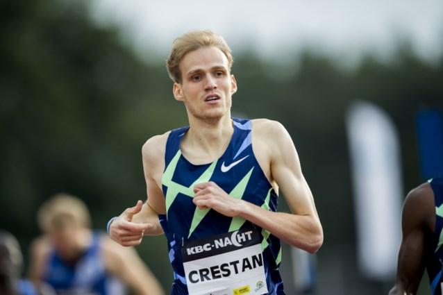 Eliott Crestan stelt persoonlijk record op 800m bij, Rani Rosius wint 100m maar komt niet in buurt van persoonlijk record