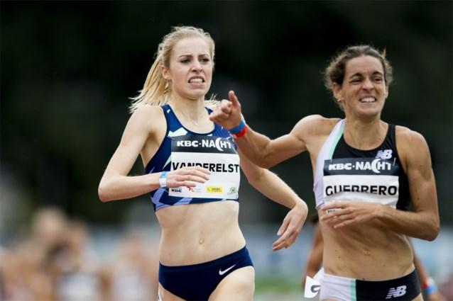 Elise Vanderelst komt minder dan een seconde tekort voor Belgisch record op 1.500 meter