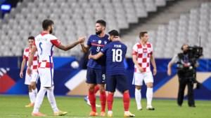 Denemarken en Engeland scoren niet, Frankrijk wint heruitgave van WK-finale
