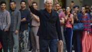 Giorgio Armani zal zijn nieuwste modeshow live uitzenden op televisie