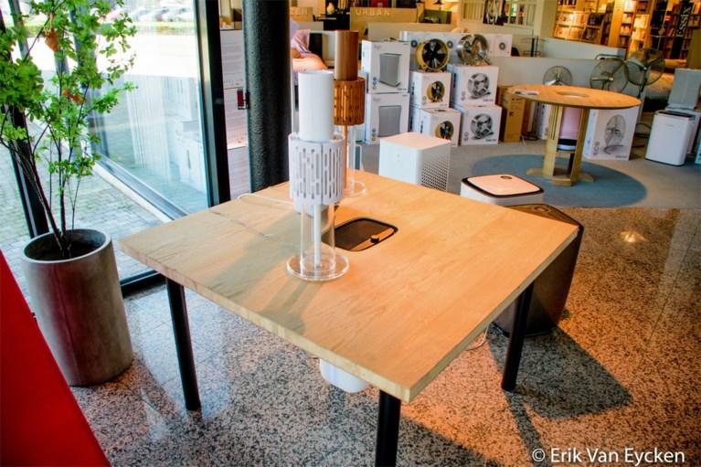Van de tafel met luchtgordijn tot de desinfectie-ijskast: creatief met corona