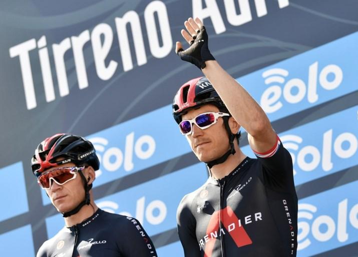 """Chris Froome en Geraint Thomas laten (eindelijk) het achterste van hun tong zien: """"Ik wilde niet naar de Tour als helper"""""""