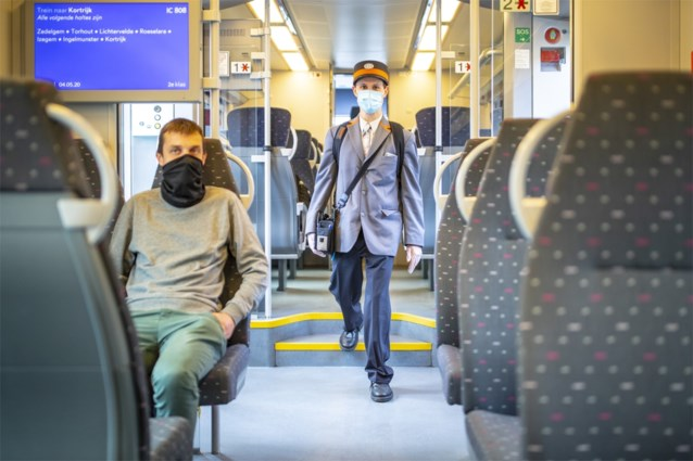 NMBS lanceert app die drukte op trein toont