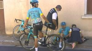 Ion Izagirre breekt sleutelbeen en middenhandsbeentje en geeft op in Tour de France