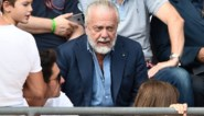Napoli-voorzitter test positief op corona, maar woonde ondanks symptomen vergadering met collega's bij