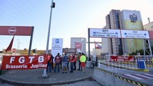 Werknemers AB InBev leggen ook in Leuven en Hoegaarden het werk neer