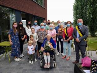 Irène viert haar honderdste verjaardag in stijl
