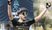 Vijfde etappe Tirreno-Adriatico: ritwinst en leiderstrui voor Simon Yates, Van der Poel ganse dag in de aanval