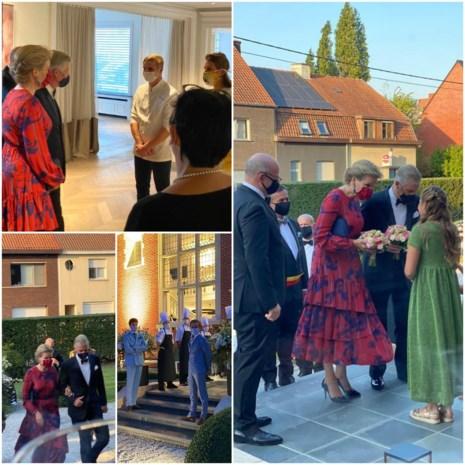 Sterrenrestaurant Boury maakt foodbox voor Filip en Mathilde