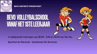 Volleybalschool Bevo Geetbets zoekt jong talent