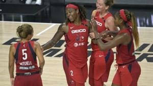 Emma Meesseman en Washington Mystics na tweede zege op een rij opnieuw op weg naar play-offs in WNBA