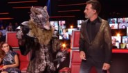 Wolf uit 'The Masked Singer' is een weekje te vroeg en duikt op in de finale van 'The Voice Kids'