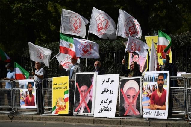 Iran executeert worstelaar Navid Afkari, protestactie in Brussel