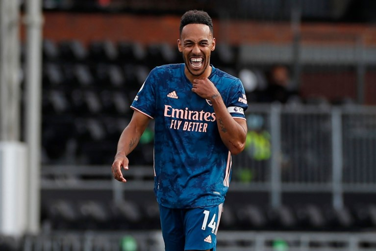 Aubameyang scoort meteen heerlijke goal in eerste match Premier League: Arsenal wint vlot van promovendus