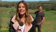 """Superster Chris Hemsworth neemt plots het weerbericht over: """"Laten we alles verkeerd uitspreken"""""""