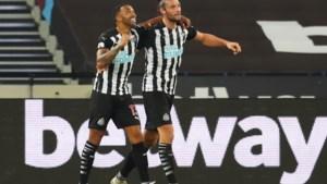 Twee kersverse aanwinsten bezorgen Newcastle uitzege bij West Ham