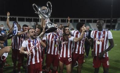 Olympiakos wint uitgestelde Griekse bekerfinale