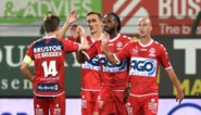 Kortrijk wordt derde na thuiswinst in derby tegen Moeskroen, dat met negen eindigt