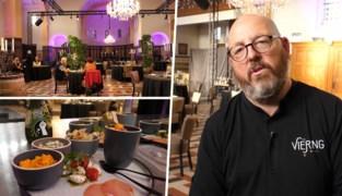"""Restaurant dekt tafels in kerk door corona: """"Onze passie kunnen uitoefenen in dit gebouw is fantastisch"""""""