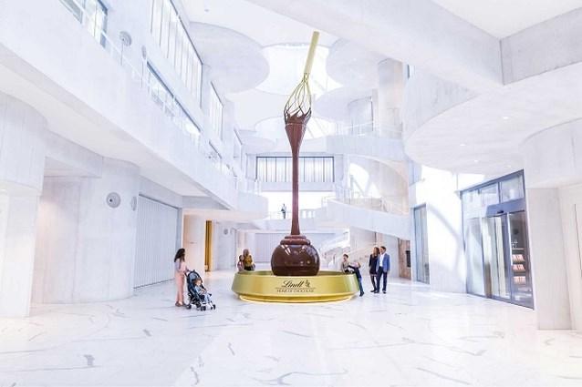 Grootste chocolademuseum ter wereld opent de deuren in Zürich