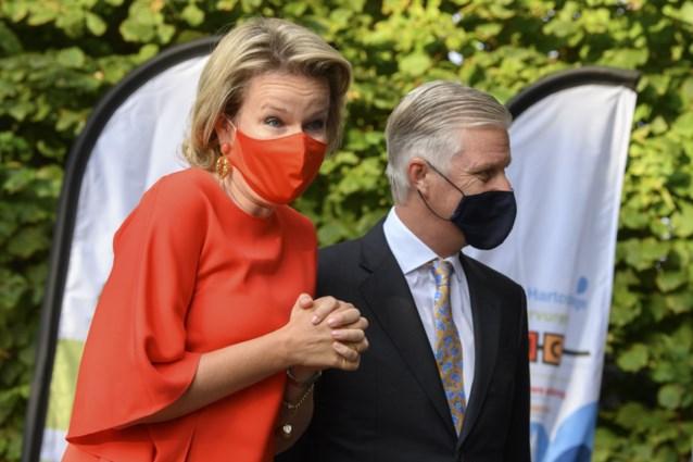 Koning Filip en koningin Mathilde naar wereldpremière Collegium Vocale