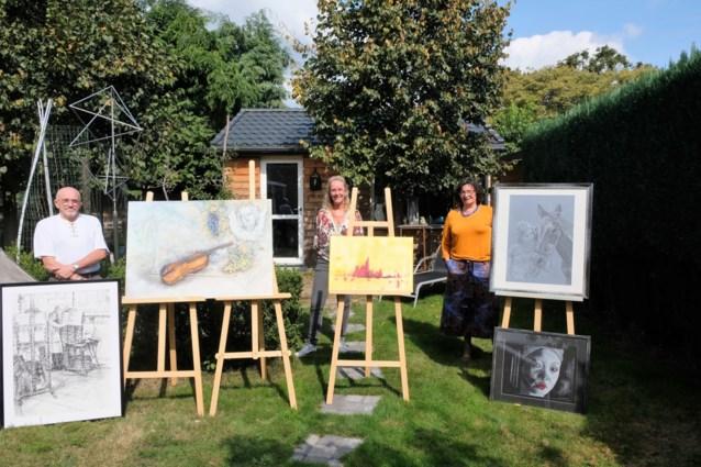 Drie schilders organiseren samen virtuele expo