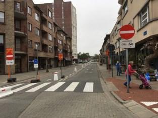 'Rode loper' voor fietsers aan inkompoort gemeente