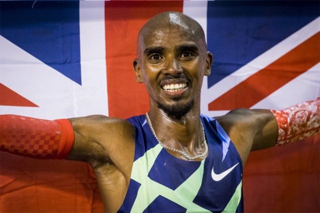 Mo Farah laat 5000 meter op Olympische Spelen in Tokio schieten