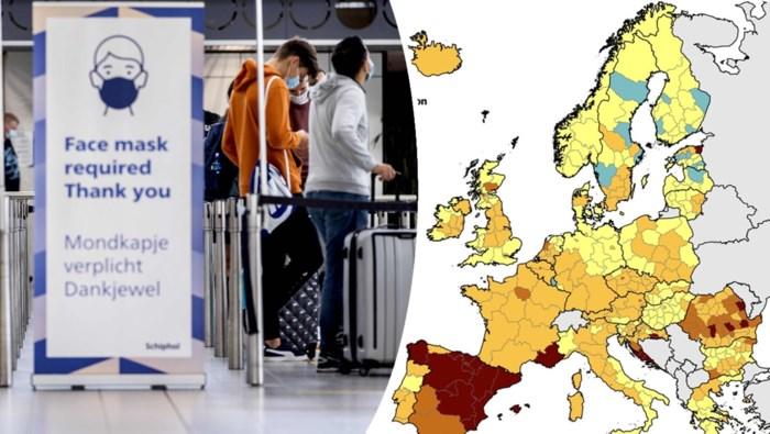 OVERZICHT. Welke maatregelen treffen onze buurlanden tegen stijgend aantal besmettingen en lopen ziekenhuizen al vol?