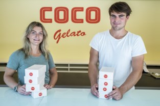 """Corona brengt broer en zus samen in nieuwe ijszaak: """"Niet zomaar ijs, maar echte Italiaanse gelato"""""""