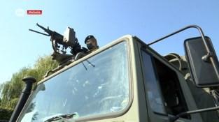 Legerrekruten uit Burcht oefenen checkpointcontroles op Wase wegen
