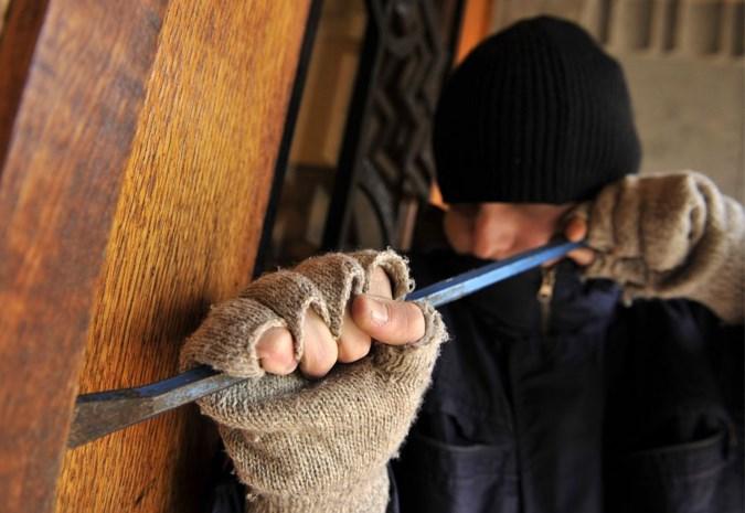 Inbrekers forceren deur in Halen