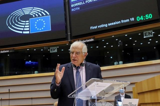 "EU-buitenlandvertegenwoordiger: ""Europese geloofwaardigheid hangt af van sancties tegen Wit-Rusland"""