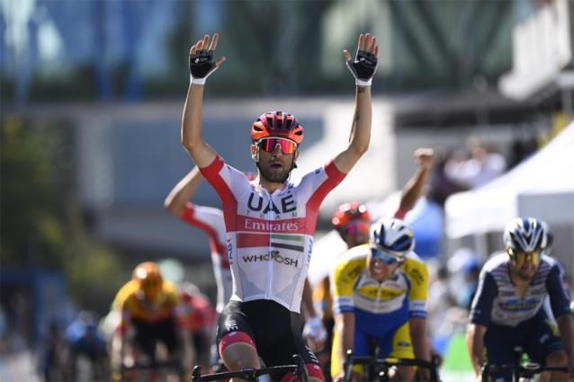 Diego Ulissi sprint naar de zege in Luxemburg, Capiot en Philipsen in de top vijf