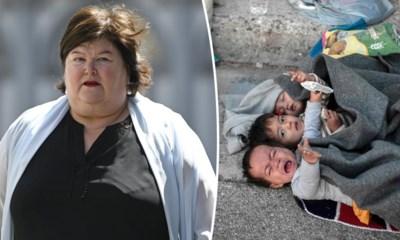 """Maggie De Block onder vuur voor het opvangen van twaalf minderjarigen uit Moria: """"Een voetbalploeg plus een trainer. Triest"""""""