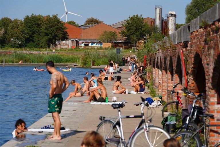 Indian Summer in Gent: water en kades vol zonnekloppers