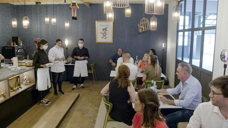 Gezinsruzie bij eerste service in 'Mijn keuken mijn restaurant'